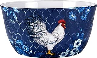 Certified International Indigo Rooster 192 oz. Deep Serving Bowl, Multicolor