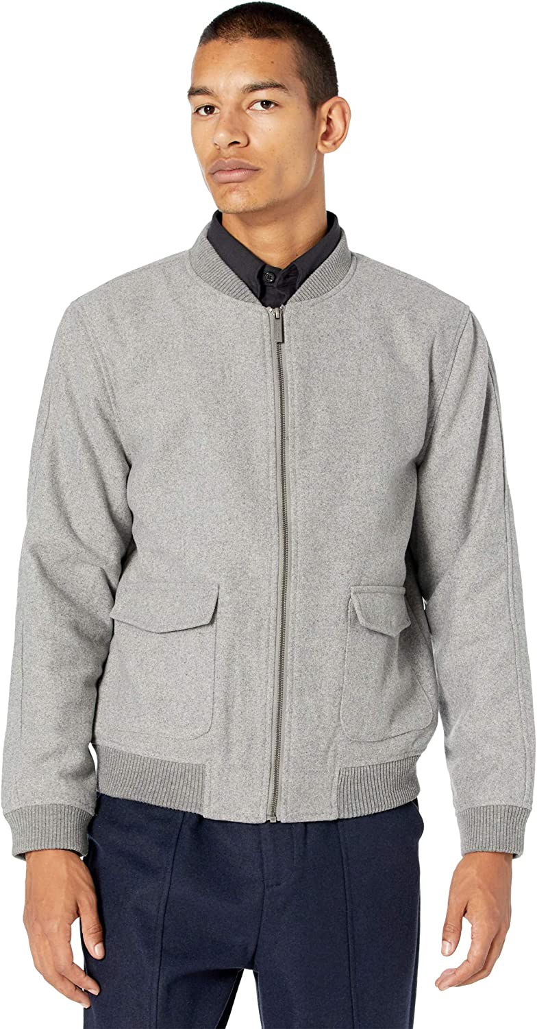 Native Youth Luther Wool Bomber Jacket