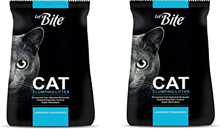 Drools Let's Bite Clumping Cat Litter, 6 kg (Pack of 2)