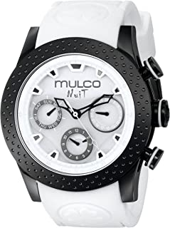 Unisex MW5-1962-018 Analog Display Swiss Quartz White Watch