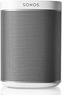 Sonos Play:1 Compact Wireless Speaker for Streaming Music. Compatible with Alexa. (White)(Certified Refurbished)