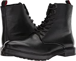 BOSS Hugo Boss - Defend Buffalo Leather Zip Boot by HUGO