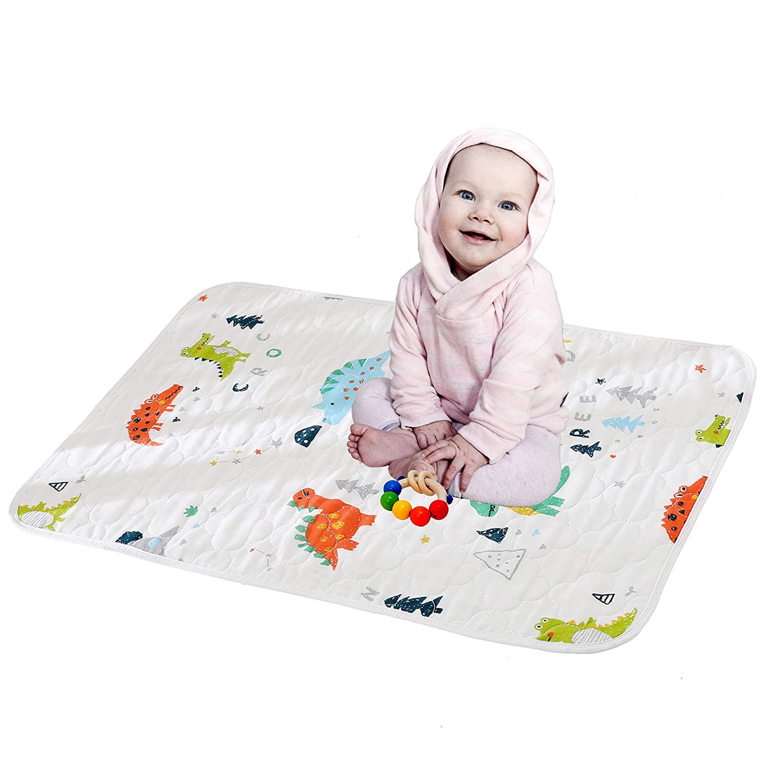 Cotton Gauze Changing Pad Portable 5 ☆ popular 67% OFF of fixed price B for Waterproof Mat