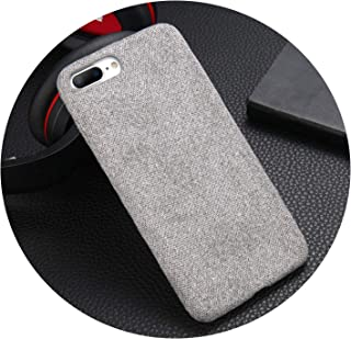 Phone Case for Apple iPhone X XS Max XR 8 7 6s 6 Plus Warm Plush Fashion Soft Color Back Cover Cases,Light Gray,for iPhone 8