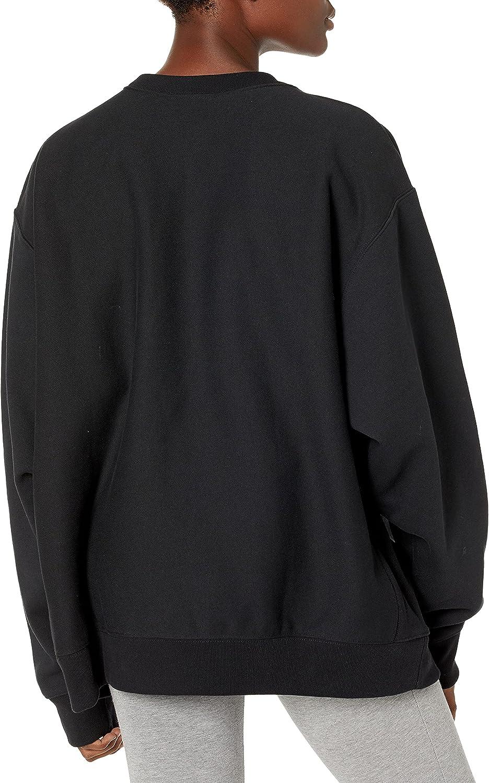 Champion Women's Reverse Weave Crew Neck Sweatshirt (Plus Size)
