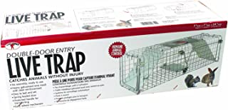 Little Giant Double Door Entry Live Animal Trap, 24-Inch