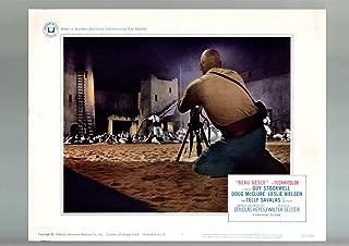 MOVIE POSTER: BEAU GESTE-1966-GUY STOCKWEL-LESLIE NIELSON-WAR-LOBBY CARD-BASED ON VF/NM