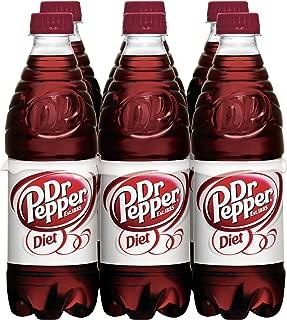 Diet Dr Pepper, 6 PK, .5 Liter Bottles