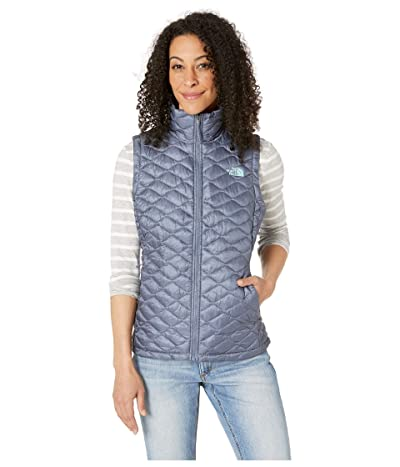 The North Face ThermoBalltm Vest (Grisaille Grey/Mint Blue) Women