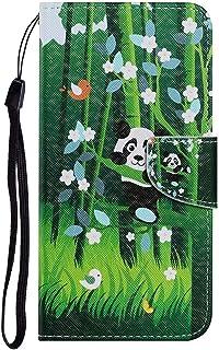 Miagon för Huawei P Smart 2021 fodral, färgrikt mönster fällbart stativ PU-läder plånbok flip fodral med TPU inre stötdämp...