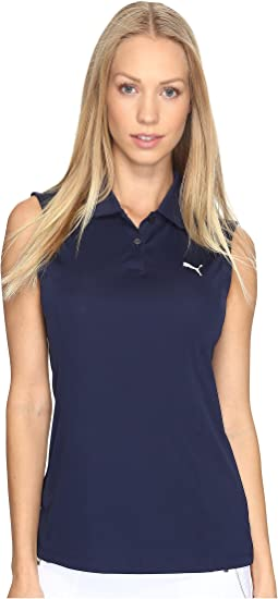 Pounce Sleeveless Polo