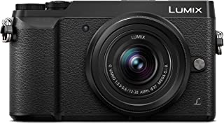 Panasonic LUMIX G DMC-GX85K 12-32mm 16MP Mirrorless Camera Black