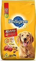 Ração Pedigree Carne Frango e Cereais Para Cães Adultos Raças Médias e Grandes 20 kg