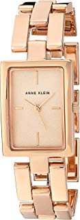 Anne Klein Women's AK/2638RGRG Rose Gold-Tone Bracelet Watch