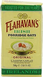 FLAHAVAN'S Irish Porridge Oats, 17.5-Ounce Bags (Pack of 6)