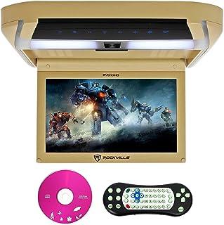 "Rockville RVD10HD-BG 10.1"" Flip Down Monitor DVD Player, HDMI, USB, Games, LED (RVD10HD-BG v2)"