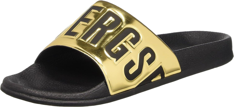 Bikkembergs Swimm-er 414 Sandal M Shiny S.Leather, Men's Block Wedge shoes