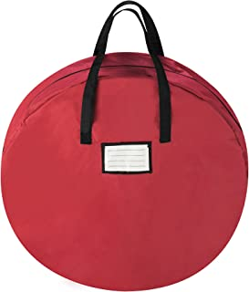 Tiny Tim Totes 83-DT5533 Red Canvas Holiday Christmas Storage Bag For 30