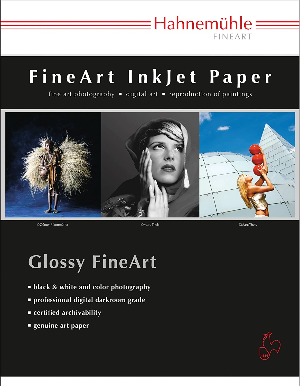 Hahnemuhle Baryta FB Bright White 350 Japan's largest assortment Inkjet Gloss Paper Industry No. 1 High