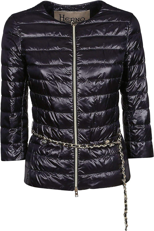 Herno Women's PI004DIC120179300 Black Polyamide Down Jacket