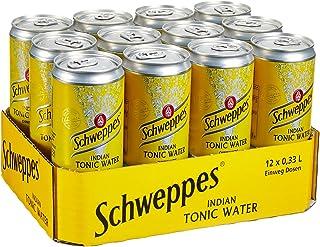 Schweppes Indian Tonic Water 12 x 0.33 l Dose Einweg