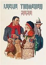 Calendario de pared 2020 [12 páginas 8 x 11 pulgadas] escenas de vida cotidiana vintage sábado noche post ilustración por Leslie Thrasher