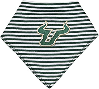 University of South Florida Bulls Striped Baby Bandana Bib