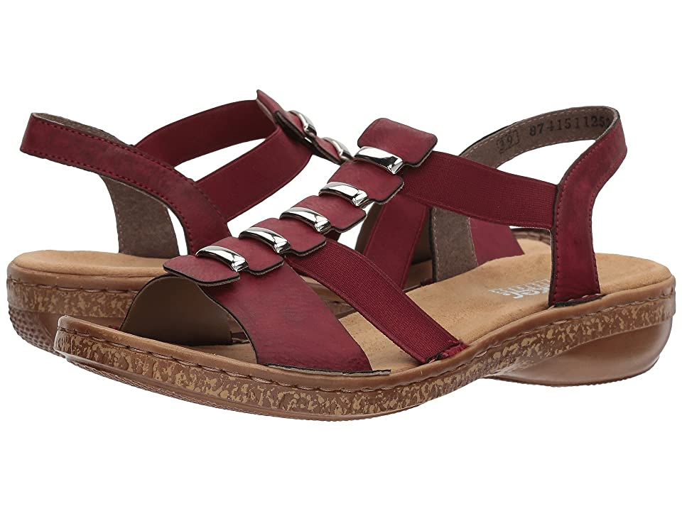 Rieker 62850 Regina 50 (Wine) Women