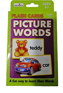 Creative Picture Words Flash Cards, Multi-Colour, 373