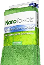 Nano Towels - Amazing Eco Fabric That Cleans Virtually Any Surface With Only Water. No More Paper Towels Or Toxic Chemicals. Save Money, Clean Faster & Easier and Make Your Home Safer & Healthier 4 Ct