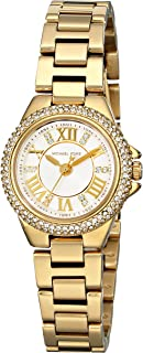 Michael Kors Camille Watch For Women - Analog Stainless Steel Band - Mk3252, Quartz Movement