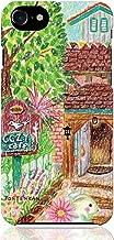 iPhone8 iPhone7 ハード ケース カバー 居心地の良いCafe Time TONTENKAN イラスト 色えんぴつ 絵本 tontenkan ほのぼの 動物