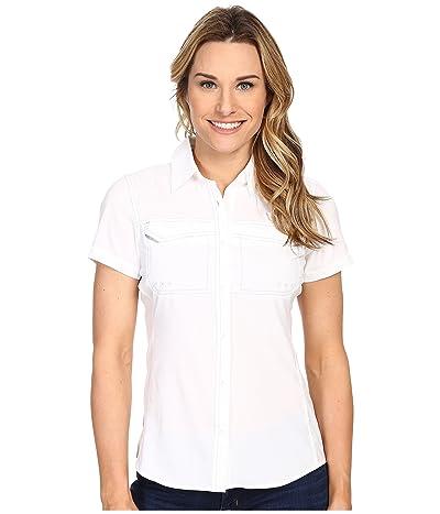 Columbia Lo Dragtm Short Sleeve Shirt (White) Women