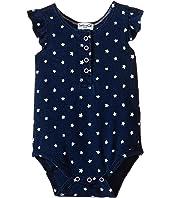 Splendid Littles - Indigo Star Ruffle Sleeve Bodysuit (Infant)