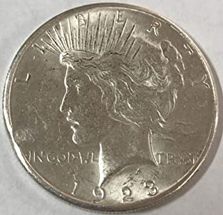 1924 peace silver dollar prices
