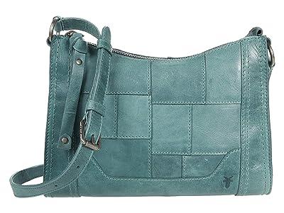 Frye Melissa Zip Crossbody (Sky 1) Cross Body Handbags