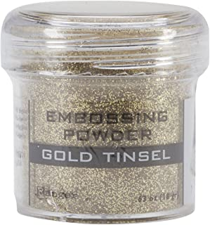 Ranger Embossing Powder, 1-Ounce Jar, Gold Tinsel