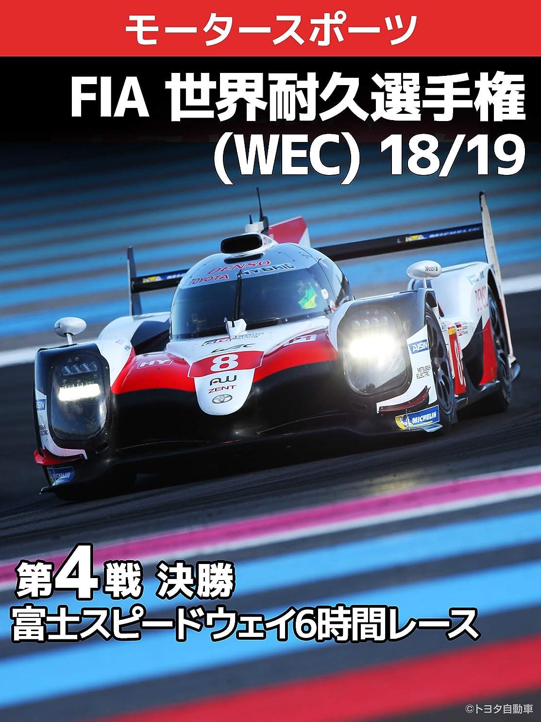 法王麻酔薬宝石FIA 世界耐久選手権(WEC) 18/19 第4戦?決勝 富士スピードウェイ6時間レース