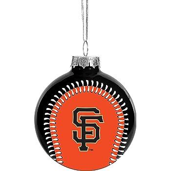 One Size Team Colors Evergreen Enterprises MLB Los Angeles Dodgers OrnamentTiki Design