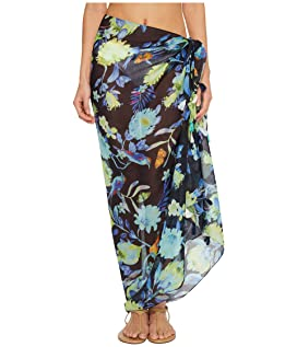 Melba Floral Tassel Pareo Cover-Up