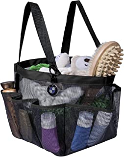 Mesh Shower Caddy for College Dorm Room Essentials, Hanging Portable Shower Tote Bag Toiletry for Bathroom Accessories