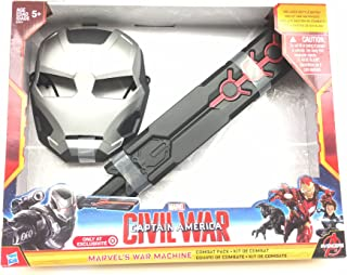 Marvel's captain america civil war iron man war machine mask and baton