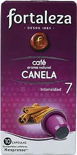 comprar comparacion Café FORTALEZA - Cápsulas de Café con Aroma a Canela Compatibles con Nespresso, caja con 10 Cápsulas