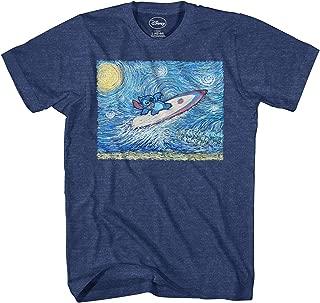 Lilo and Stitch Starry Night Surfing T-Shirt