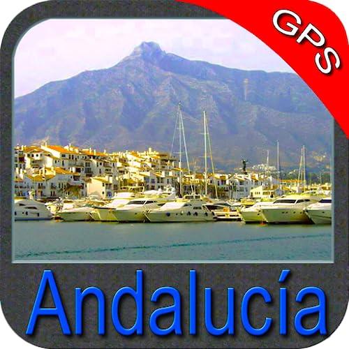 Andalusia GPS Map Navigator