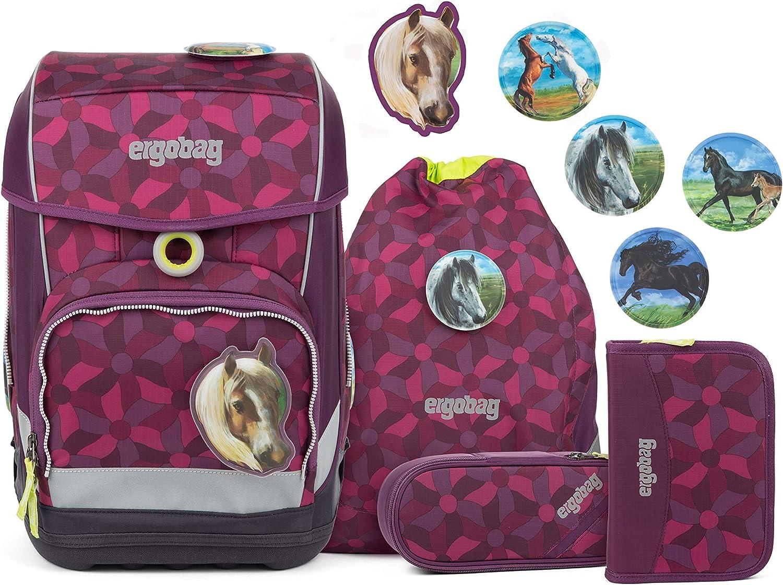 marca de lujo Ergobag Ergobag Ergobag 5-Part School Backpack Set Cubo Light Sintético 19 I  tienda de venta en línea