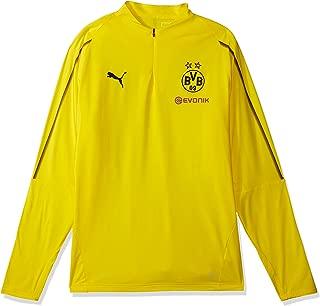 PUMA Men's BVB 1/4 Training Top with Sponsor Logo