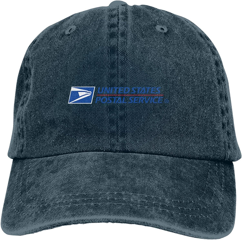 Us Postal Service Unisex Cowboy Hat for All Seasons-Adjustable Baseball Caps Cotton Dad