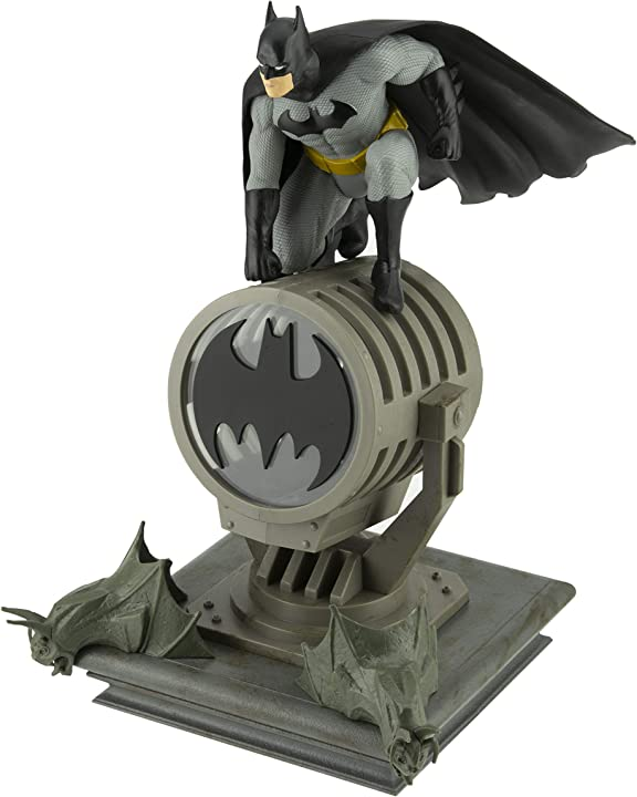 lampada batman paladone batman figurine light bdp multicolore [classe di efficienza energetica a] pp6376bm