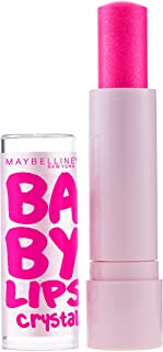 Maybelline New York Baby Lips Crystal Lip Balm, Pink Quartz [140] 0.15 oz